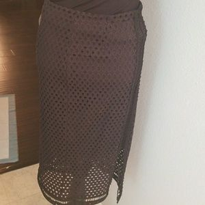 H&M PENCIL SKIRT WITH SLIT
